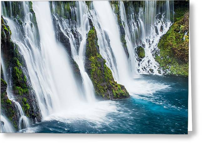 Macarthur Greeting Cards - Ever Flowing Greeting Card by Greg Nyquist