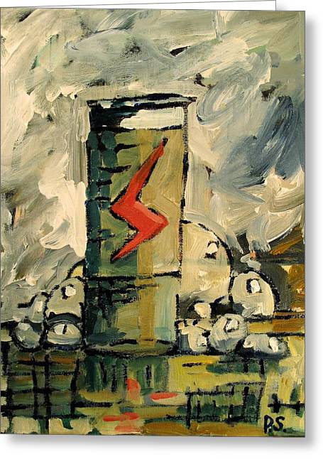 Energize Paintings Greeting Cards - Ever Ready Greeting Card by Charlie Spear
