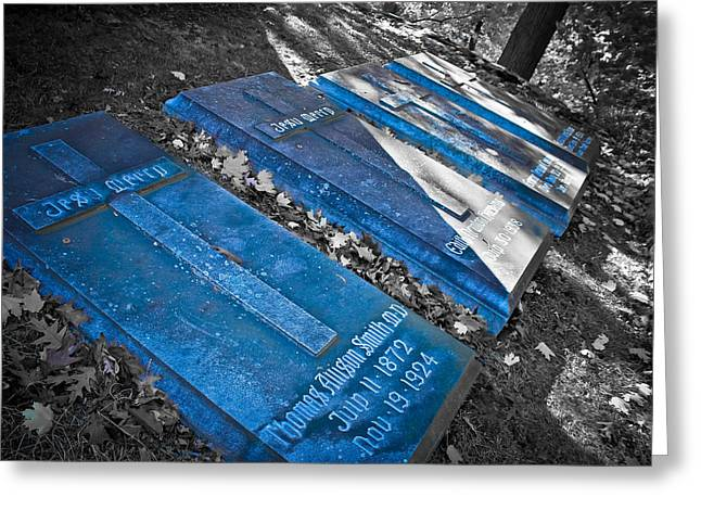 Everlasting Blue  Greeting Card by Colleen Kammerer