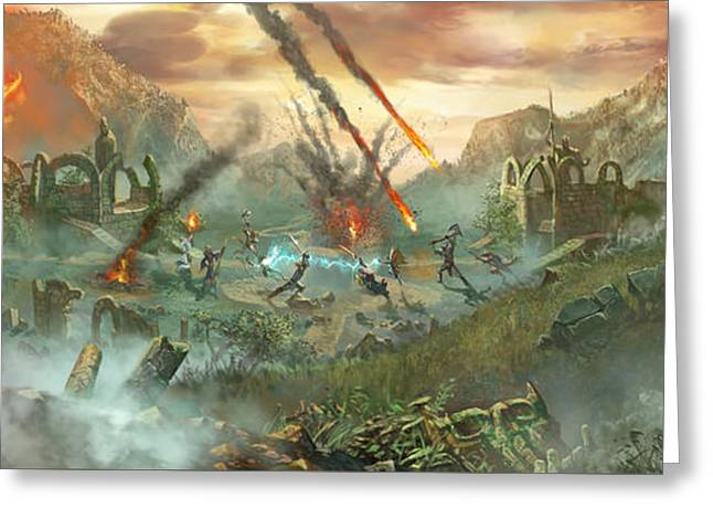 Everquest Battlegrounds Greeting Card by Ryan Barger