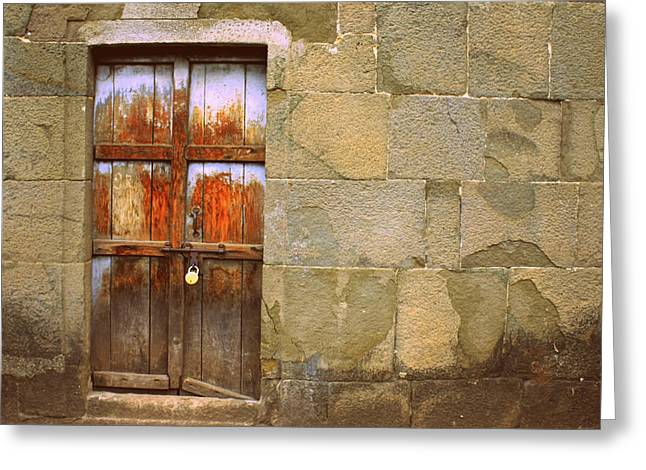Vishakha Greeting Cards - Every Wall Is A Door Greeting Card by Vishakha Bhagat