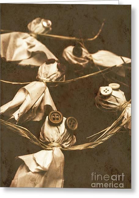 Evil B-grade Horror Dolls Greeting Card by Jorgo Photography - Wall Art Gallery