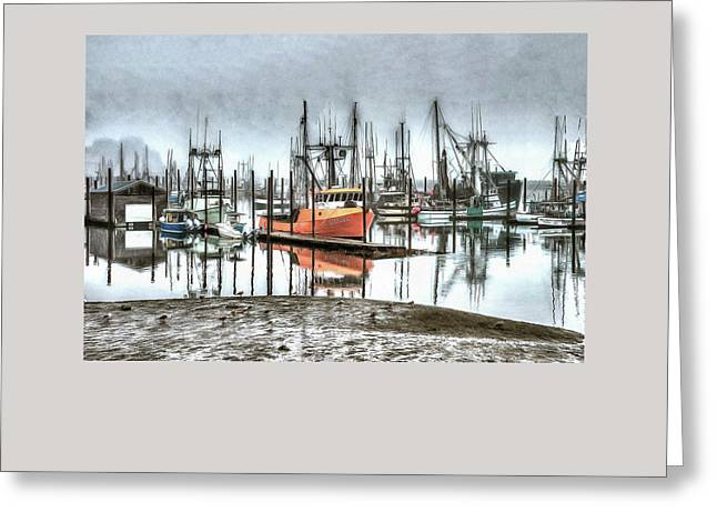 Fishing Boats Greeting Cards - Evolution Greeting Card by Thom Zehrfeld