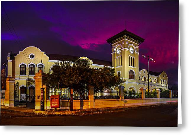20th Greeting Cards - Ex estacion Greeting Card by Mario Morales Rubi