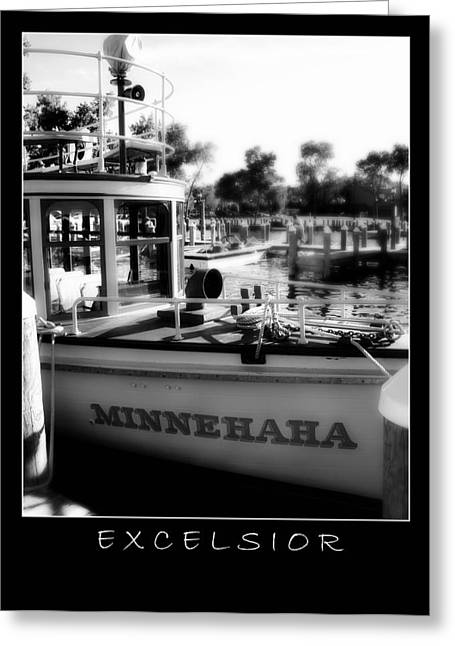 Excelsior 2 Greeting Card by Perry Webster