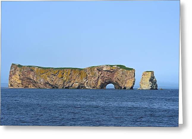 Monolith Greeting Cards - Exclamation Greeting Card by Tony Beck