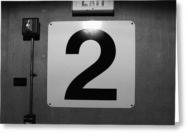 Exit Two Greeting Card by Bob Orsillo