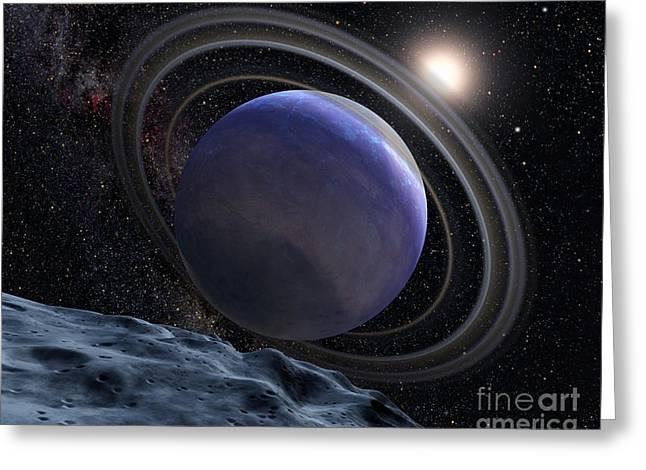 21st Greeting Cards - Exoplanet Hr 8799b Greeting Card by Science Source
