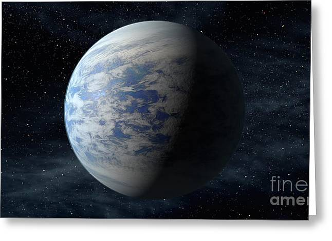 21st Greeting Cards - Exoplanet Kepler-69c Greeting Card by Science Source