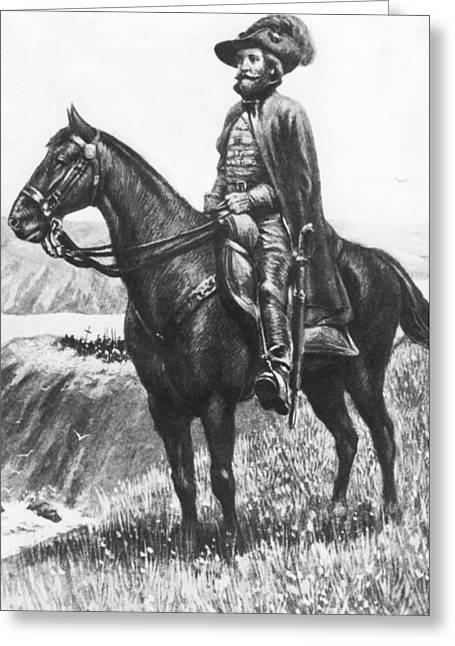 Explorer Juan Bautista De Anza Greeting Card by Underwood Archives
