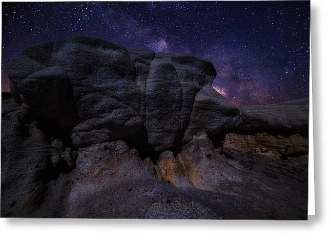 Night Photography Greeting Cards - Exploring Mars Greeting Card by Darren  White