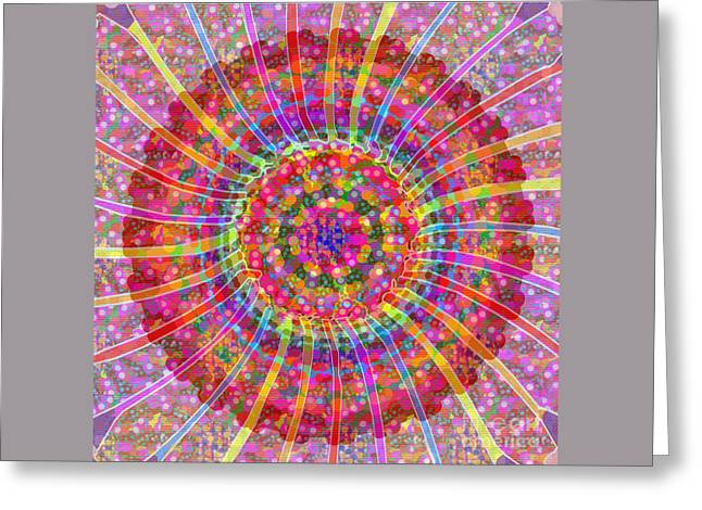 Christmas Greeting Greeting Cards - EXPLOSION all for good an artistic presentation by NavinJoshi at FineArtAmerica Greeting Card by Navin Joshi