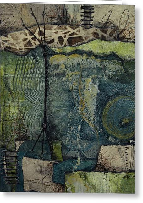 Exposed Roots Greeting Card by Laura Lein-Svencner
