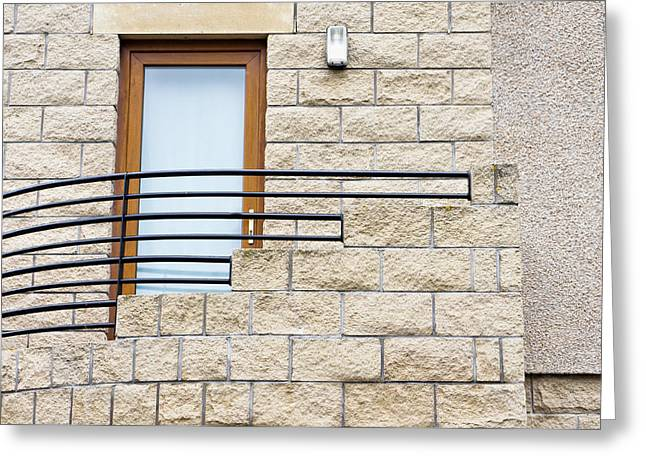 External Stairs Greeting Card by Tom Gowanlock