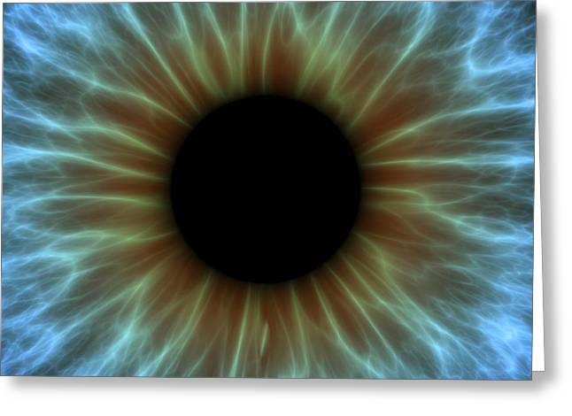Eye, Iris Greeting Card by Pasieka