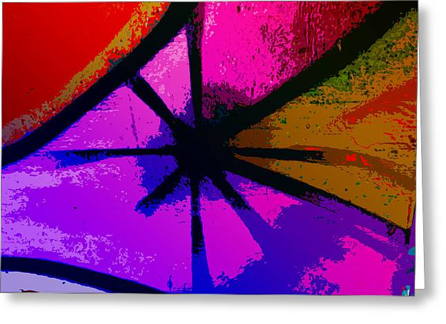 Philadelphia Digital Art Greeting Cards - Eye of the Beholder Greeting Card by Bill Cannon