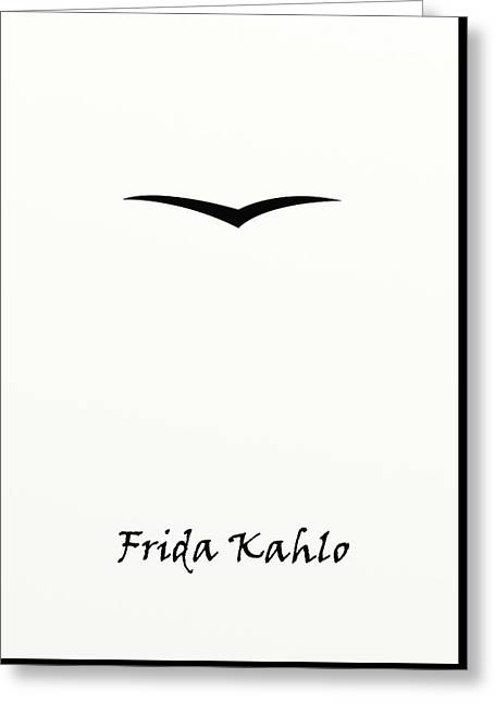 Eyebrow Greeting Cards - Eyebrows. FridaKhalo Greeting Card by Denis Frunza