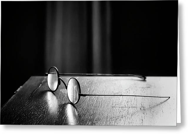 Eyeglasses - Spectacles Greeting Card by Nikolyn McDonald