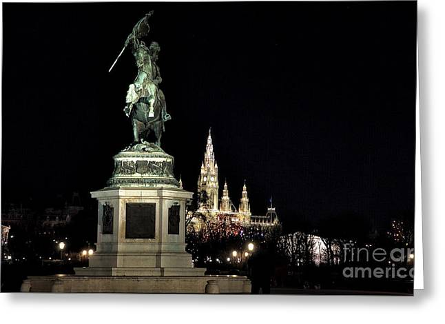 Sculpture For Sale Greeting Cards - Ezherzog Carl Greeting Card by John Rizzuto