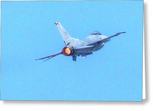 F16 04 Greeting Card by Jeff Stallard
