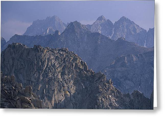 Kings Canyon National Park Greeting Cards - Facing South - Kearsarge Pass Greeting Card by Soli Deo Gloria Wilderness And Wildlife Photography