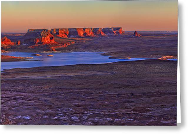 Butte Greeting Cards - Fading Light Greeting Card by Chad Dutson