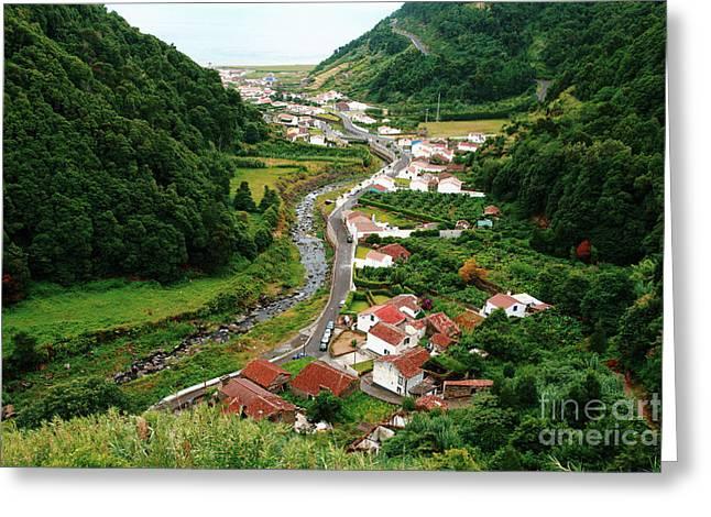 Azoren Greeting Cards - Faial da Terra - Azores Greeting Card by Gaspar Avila