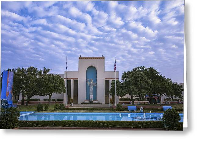 Fair Park Dallas Greeting Card by Joan Carroll