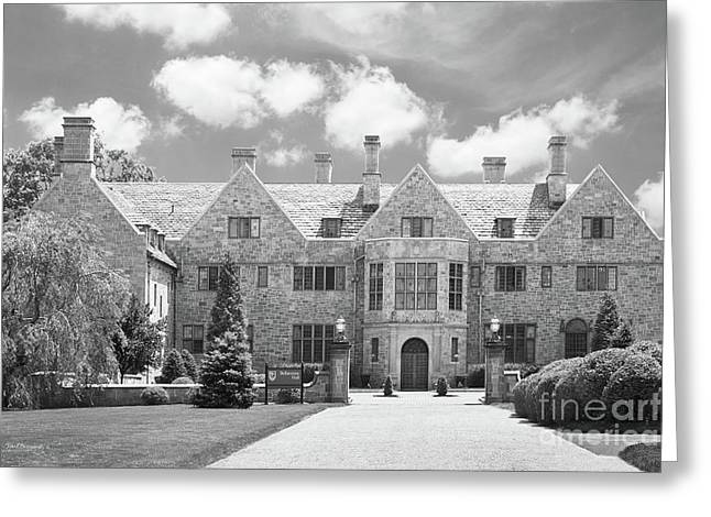 Fairfield University Bellarmine Hall Greeting Card by University Icons