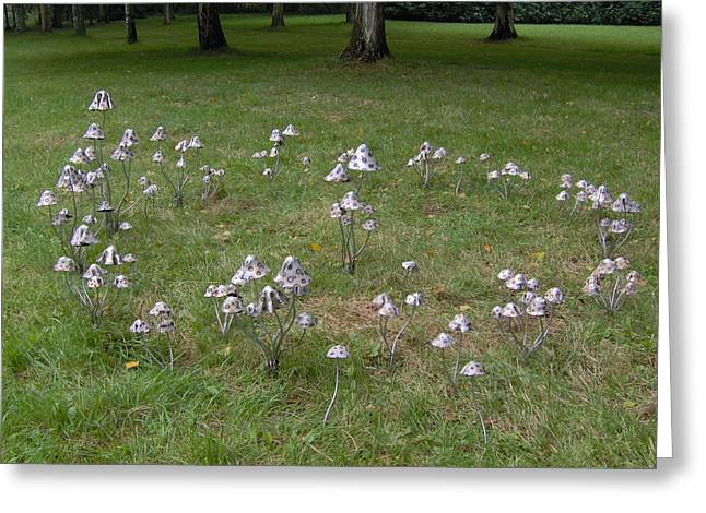 Garden Sculptures Greeting Cards - Fairy Ring Greeting Card by Stanger Moore