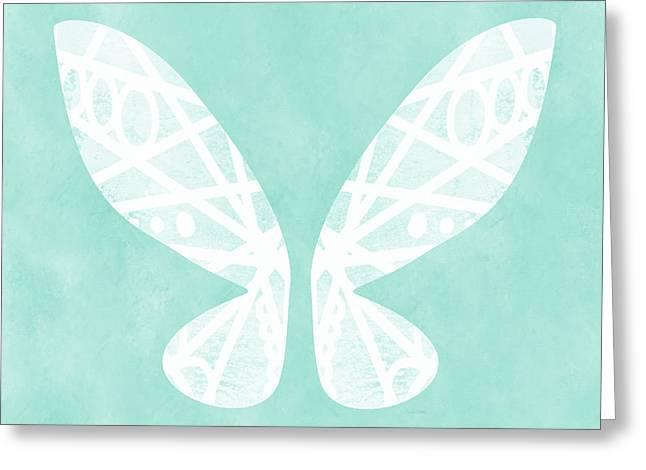 Fairy Wings- Art By Linda Woods Greeting Card by Linda Woods