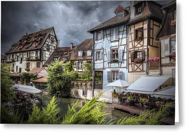 Fairytale Colmar, France Greeting Card by Sandra Rugina