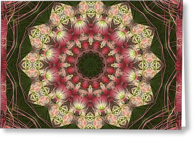 Mandala Photographs Greeting Cards - Faith Greeting Card by Bell And Todd