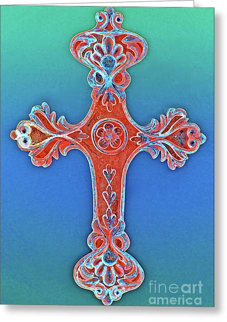 Amen Greeting Cards - Faith Greeting Card by Gwyn Newcombe