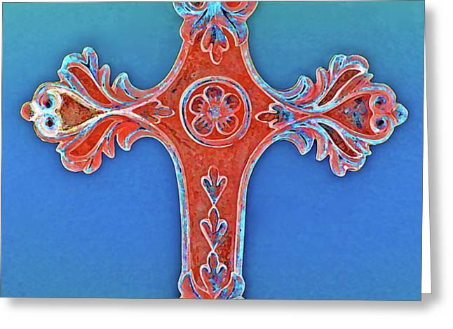 Faith Greeting Card by Gwyn Newcombe