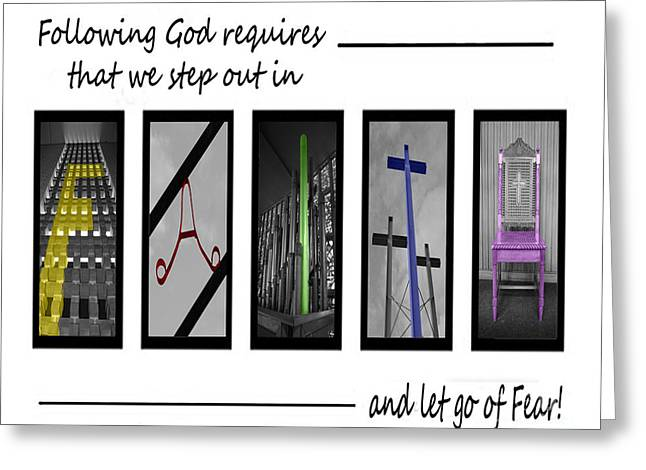 Maundy Thursday Greeting Cards - Faith in God Greeting Card by Jost Houk