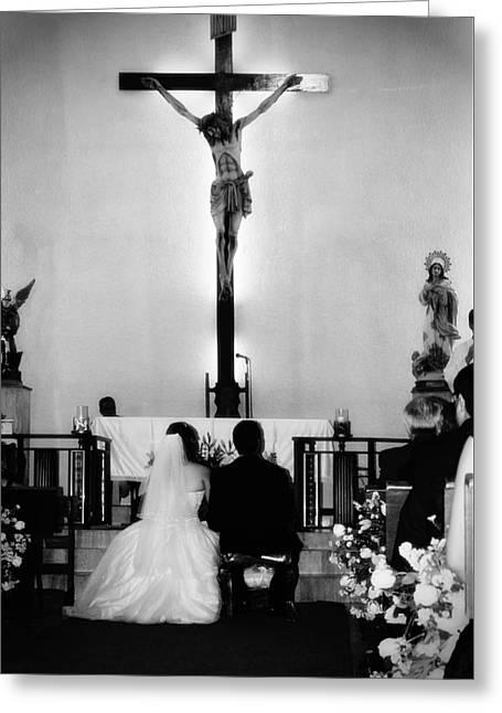 Bible Greeting Cards - Faith Greeting Card by Ivan Alberto Herrera Sainz