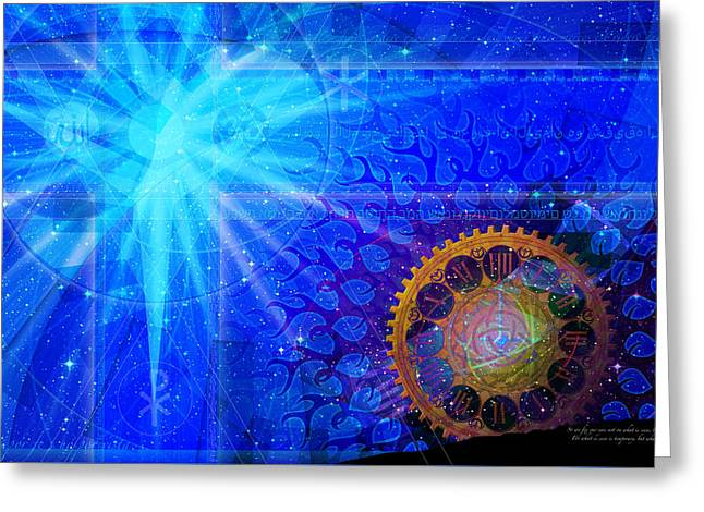 Religion Greeting Cards - Faith Greeting Card by Kenneth Johnson