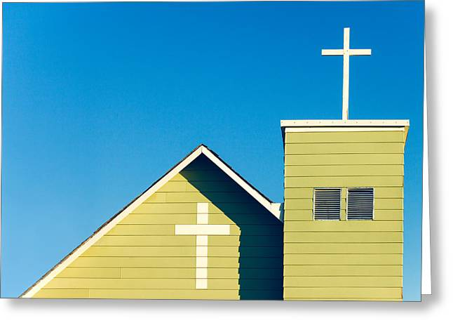 Faithfully Simple Greeting Card by Todd Klassy