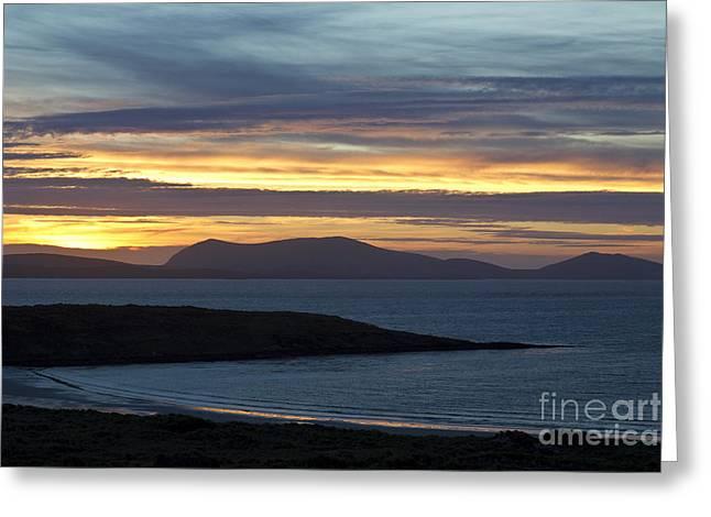 Falklands Greeting Cards - Falkland Islands At Sunset Greeting Card by Jean-Louis Klein & Marie-Luce Hubert