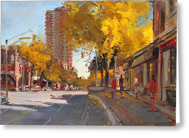 Fall 2010 Canada Greeting Card by Ylli Haruni