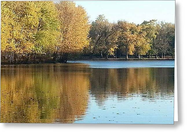 Iowa Greeting Cards - Fall Beauty Greeting Card by Michelle Willoughby