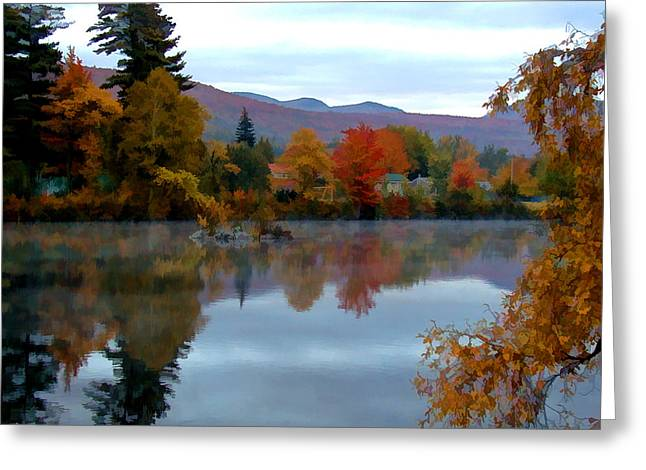 New Hampshire Leaves Greeting Cards - Fall Colors Greeting Card by Dan McManus