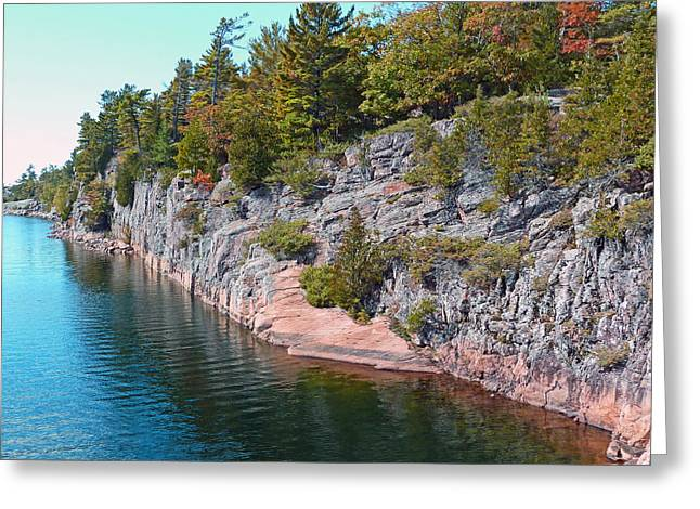 Claire Bull Greeting Cards - Fall in Muskoka Greeting Card by Claire Bull