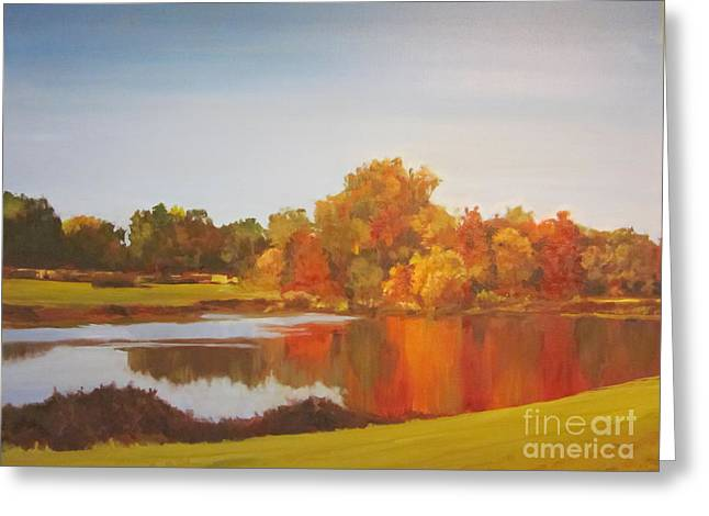 Fall Perfection Greeting Card by Elizabeth Carr