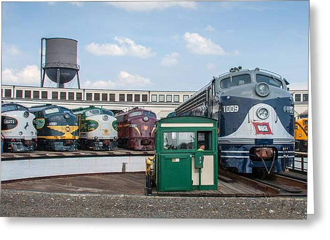 Alco Locomotives Greeting Cards - Fallen Flags 2365-2 Greeting Card by Rob Crawford