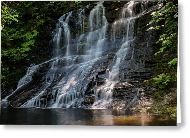 Colliery Greeting Cards - Falling Water Greeting Card by Randy Hall