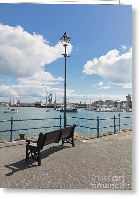 Falmouth - A Nice Place To Sit Greeting Card by Terri Waters