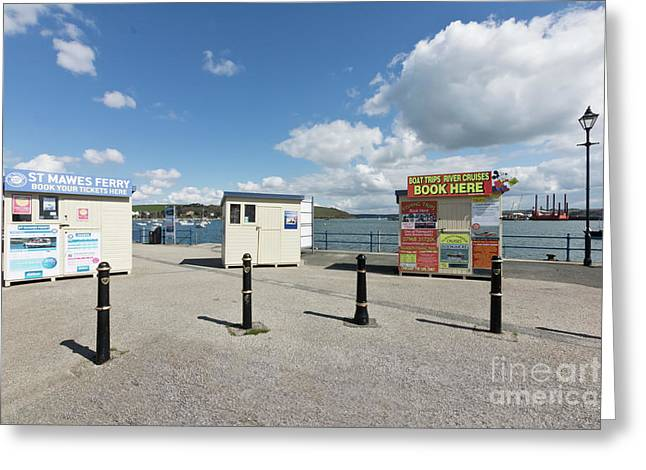 Falmouth Boat Trips Greeting Card by Terri Waters