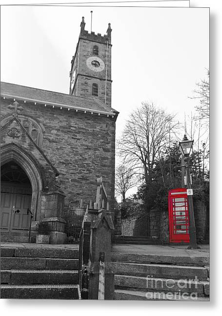 Falmouth Church Isolations Greeting Card by Terri Waters